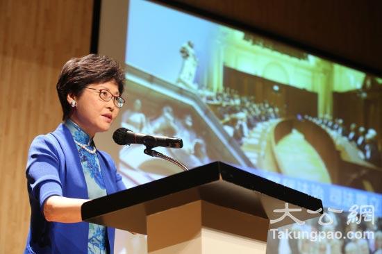 林郑月娥认为,香港需要寻找经济新增长点