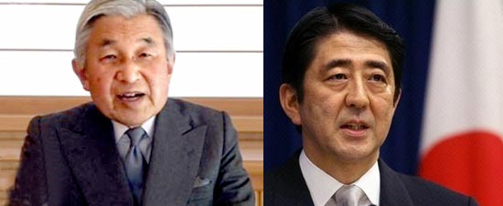 日本举行战殁者追悼仪式 天皇首相态度大不同