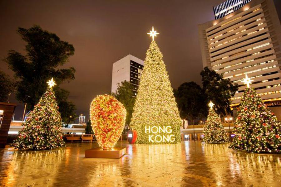 香港聖誕鐘聲  影靚相至hot地