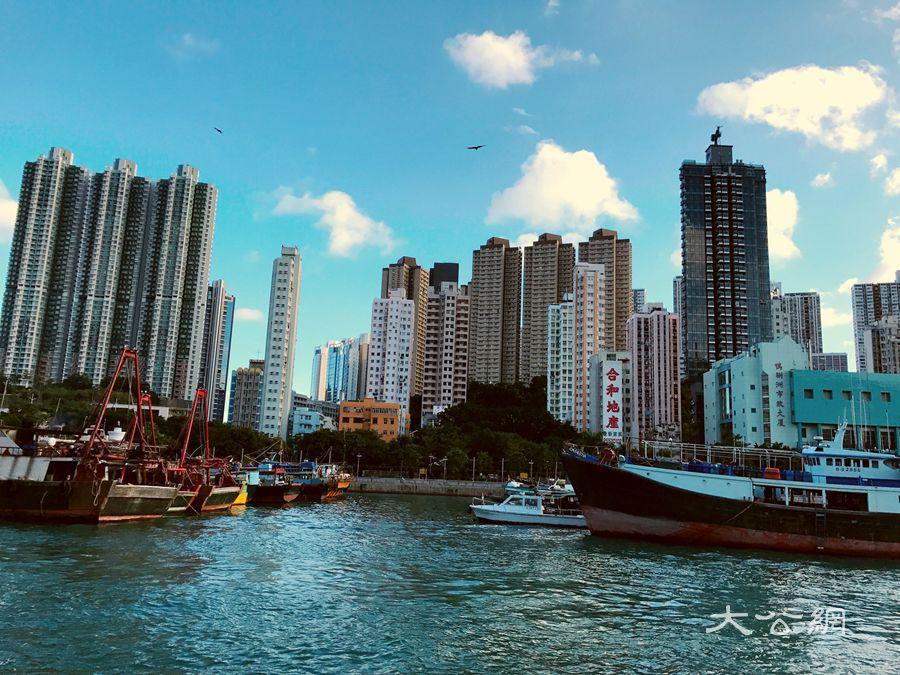香港街拍之香港仔避風塘