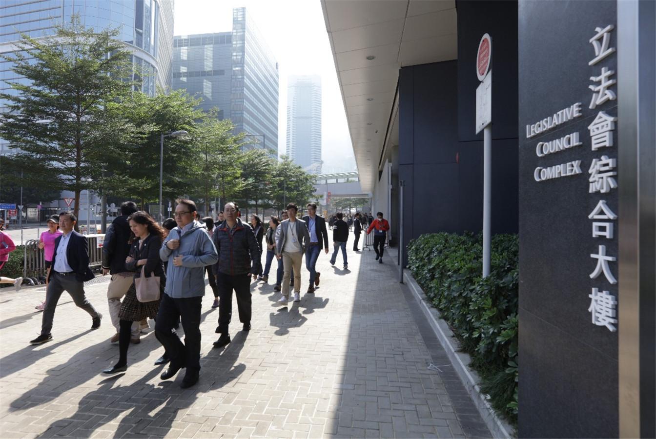香港立法會舉行年度消防演習