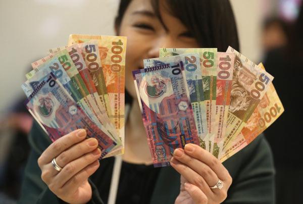 農曆新年將至,三大發鈔銀行提供換新鈔服務