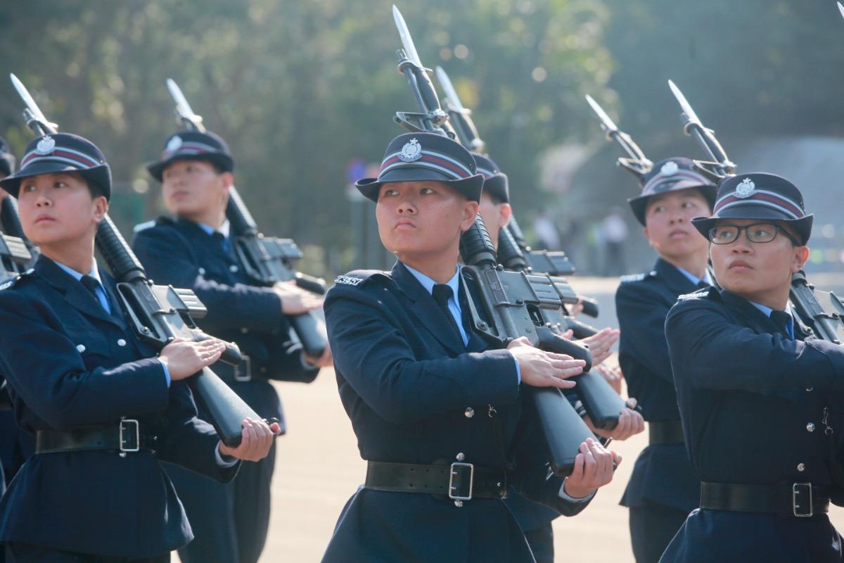 香港警察學院結業禮暨閲操式