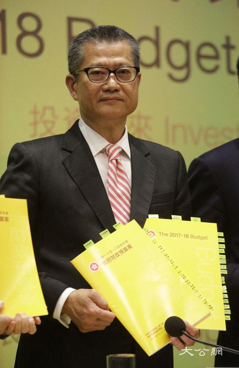陈茂波:预算案是团队工作 感谢同事的协助