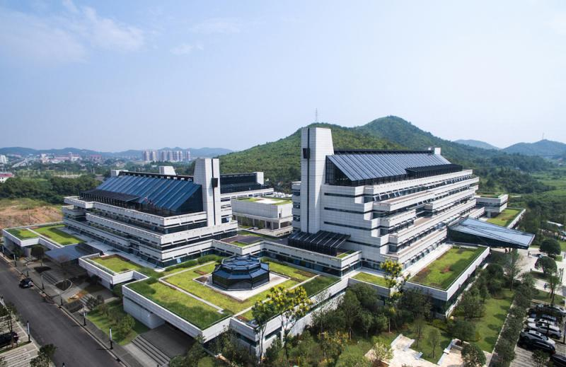 图:图为湖南健康产业园核心园区图片