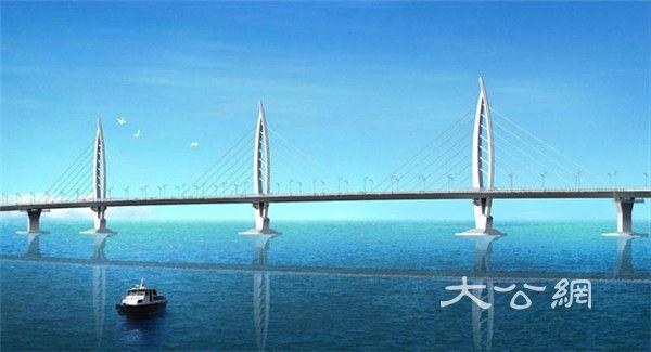 港珠澳大桥蓝图 (官网图片)-港珠澳大桥贯通在即 海底隧道沉管今对