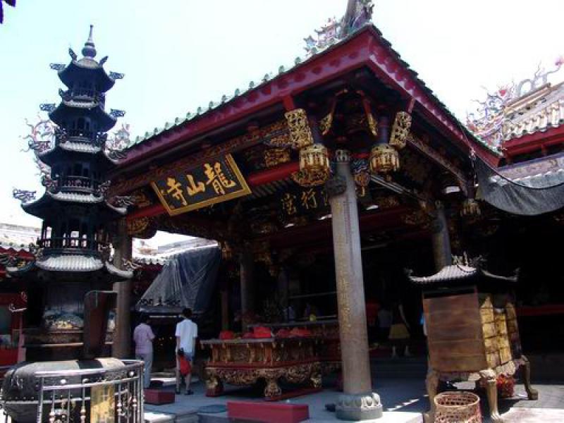 图:福建晋江安海龙山寺/资料图片