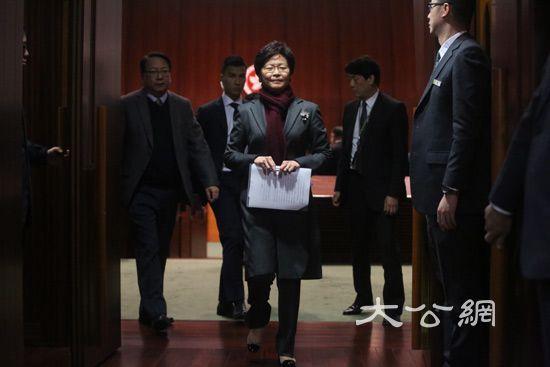 林鄭月娥:目前未有明確的23條立法時間表