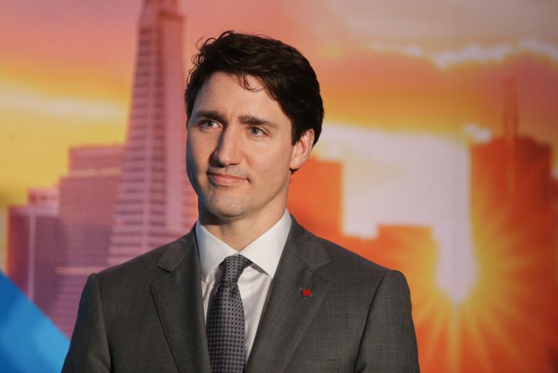 图:加拿大总理特鲁多法新社   【大公报讯】据《纽约时报》报道:加
