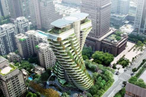 台北绿色艺术建筑获国际设计大奖