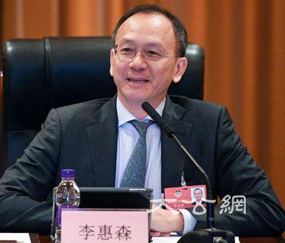 兼首席无形官李惠森表示,非常看好粤港澳大湾区的发展机遇,香港在金图片