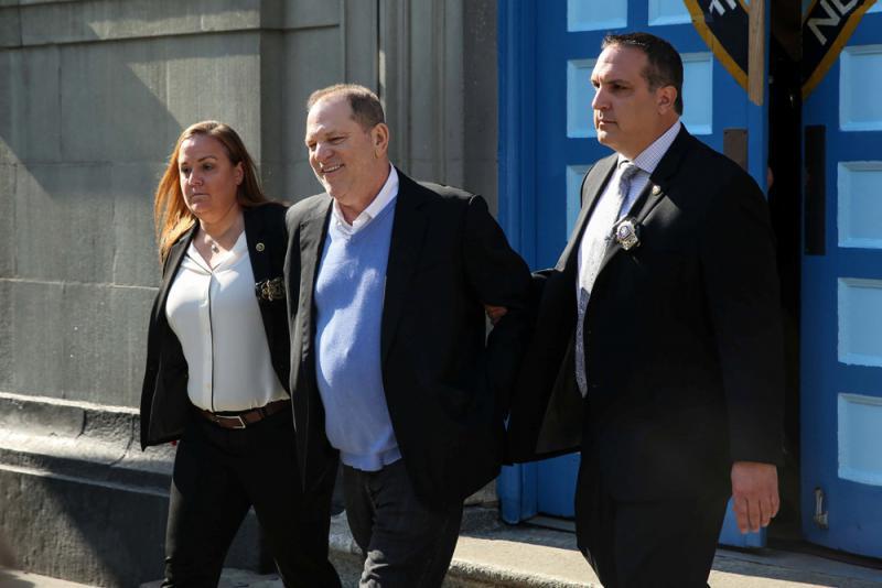 大陪审团起诉 温斯坦拒认罪