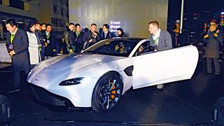 全新超跑Vantage在港预售 首批车三季度交付