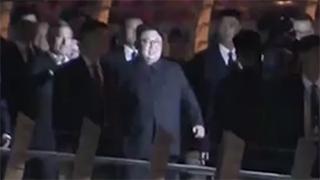 朝美峰会 |金正恩夜游新加坡 参观金禧桥