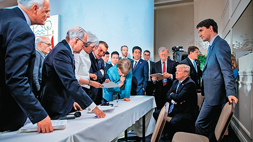 ?G7不欢而散 全球贸易战升温