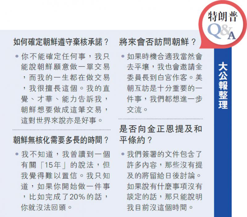北京赛车平台:特朗普Q&A