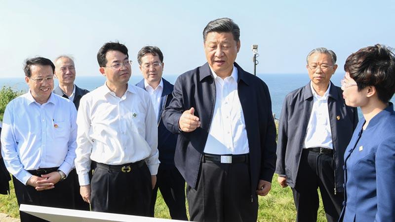 ?习近平山东考察:发展科研建设海洋强国