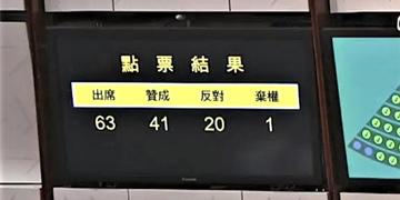 """香港立法会通过""""一地两检""""草案二读"""
