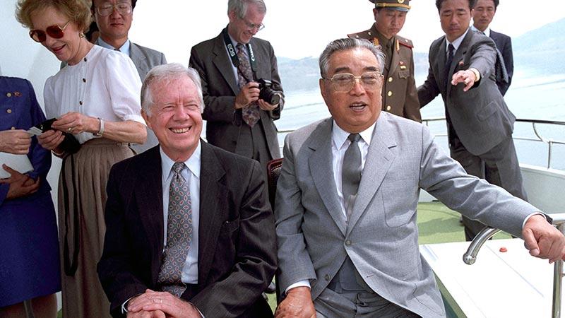 """金正恩与特朗普历史性会晤 回顾美朝高层""""对话""""之路"""