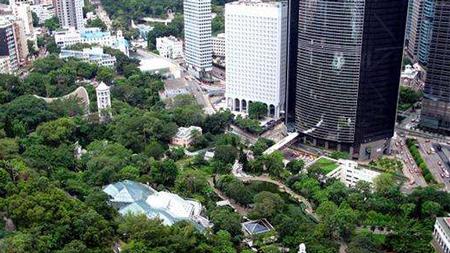 香港的绿色空间,是多是少?