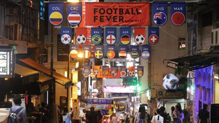 世界杯旋风 香港酒吧直播赛事订座率达七成