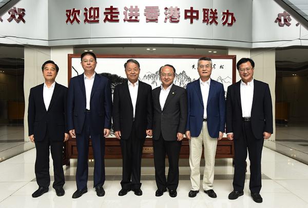 王志民会见全国政协副主席杨传堂、中央统战部副部长戴均良