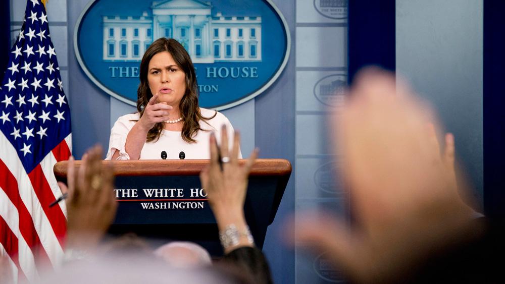 白宮再傳人事地震 新聞發言人桑德斯否認辭職