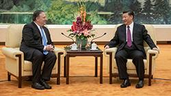 习近平会见美国务卿:中美合作可办成有利世界大事