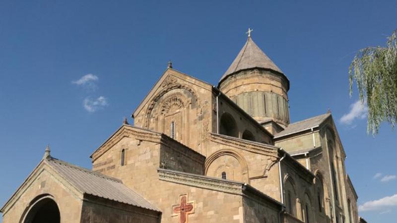 绝色高加索山和独特教堂的格鲁吉亚之旅