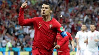 C罗上演帽子戏法 葡萄牙3比3战平西班牙