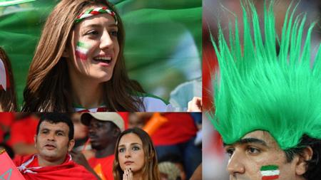 摩洛哥vs伊朗球迷大PK