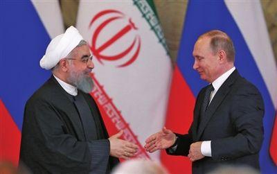 外媒:俄罗斯伊朗关系现裂痕 美国找到可乘之机