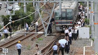 日本大阪发生6.1级地震 中领馆提醒注意安全