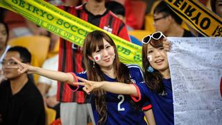 世界杯H组 哥伦比亚vs日本球迷大PK