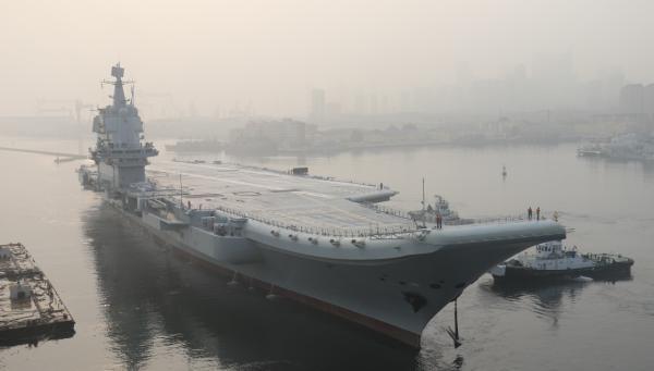 航母工程总指挥:国产航母提前实现首航 各项试验圆满成功