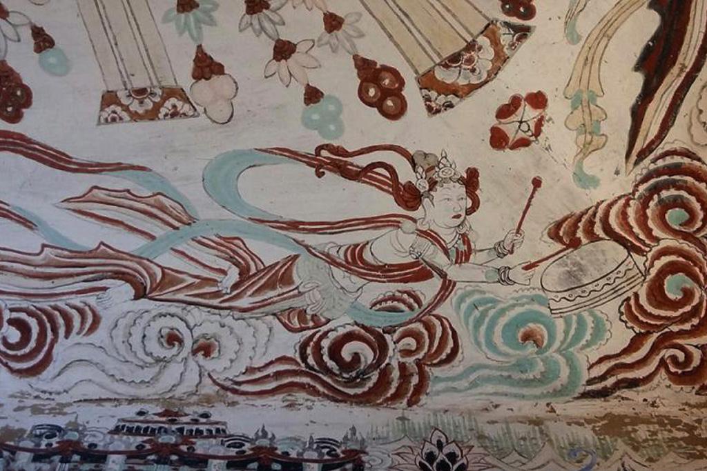 中西文化交流的结晶——敦煌音乐壁画