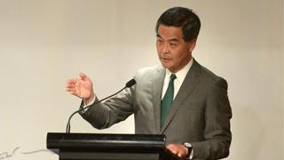 """梁振英:大湾区规划是香港""""第二次机遇"""""""