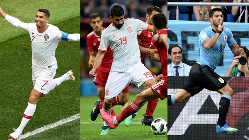 1-0之夜 葡萄牙乌拉圭西班牙皆胜
