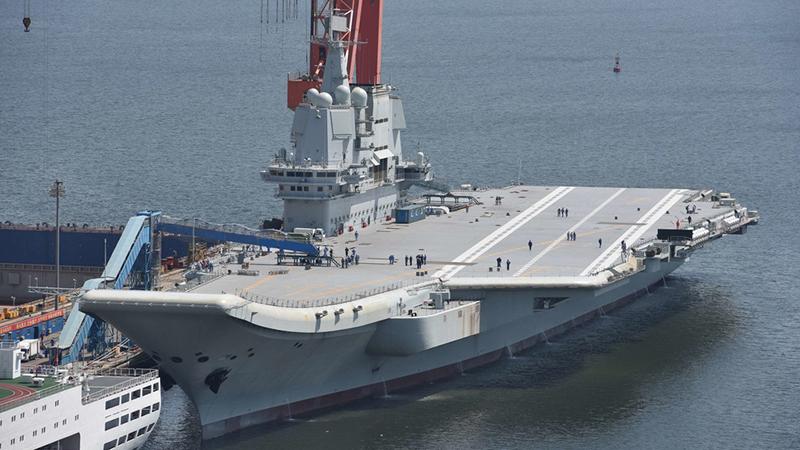 中国航母稳打稳扎 形成全面推进的梯次体系