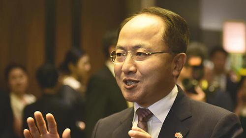 王志民晤十八区区议会主席:弘扬国家意识助青年成才