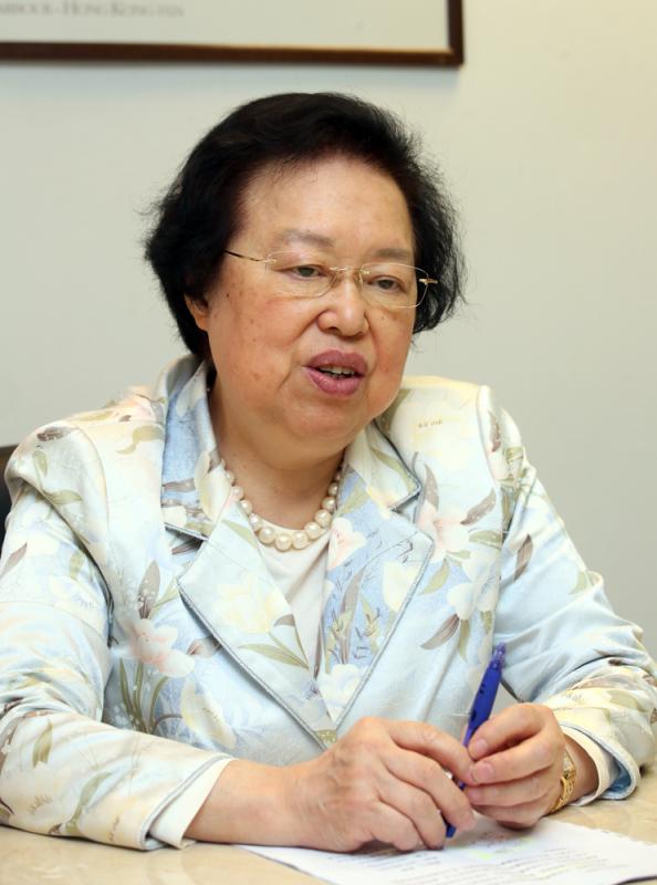 譚惠珠張勇任香港基本法委員會副主任