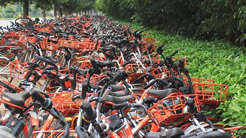 广州废弃共享单车逾30万辆 清理回收问题较突出