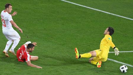 瑞士逆境下2:1反胜塞尔维亚 下战迎敌哥斯达黎加
