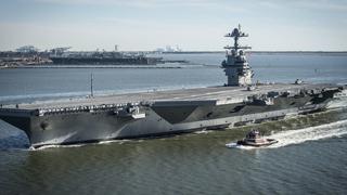 美媒:中国或已开工电磁弹射航母 技术与美国比肩