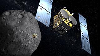 """日本探测器抵小行星""""龙宫""""附近 有望找到生命起源线索"""
