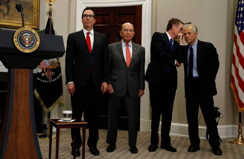 限制中国对美投资 白宫鹰鸽意见不一
