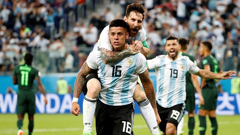 阿根廷2比1战胜尼日利亚 晋级十六强