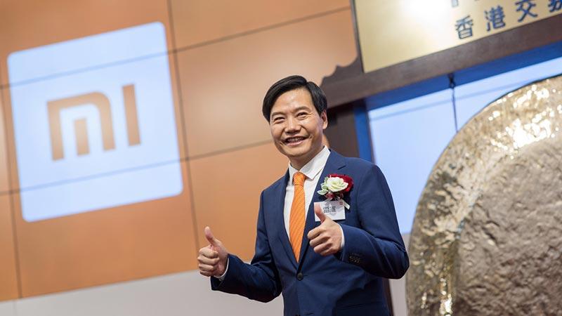 小米在香港敲钟上市 估值543亿美元