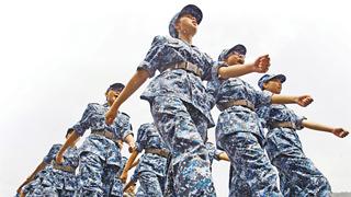 香港青少年军事夏令营开营