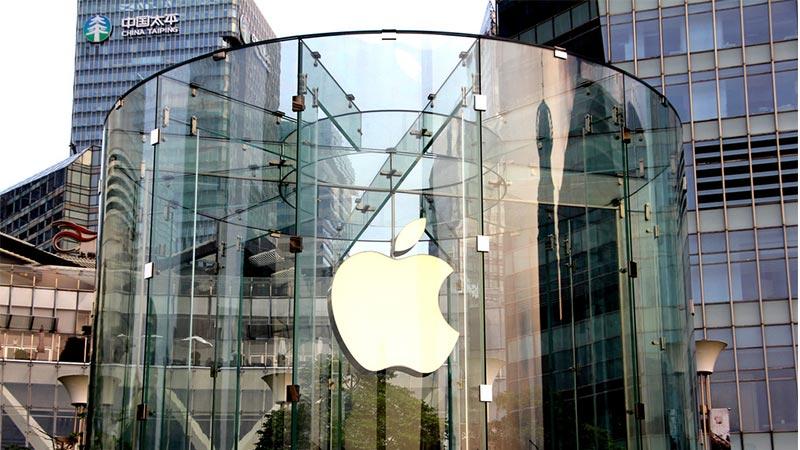 创造历史!苹果市值首破1万亿美元大关